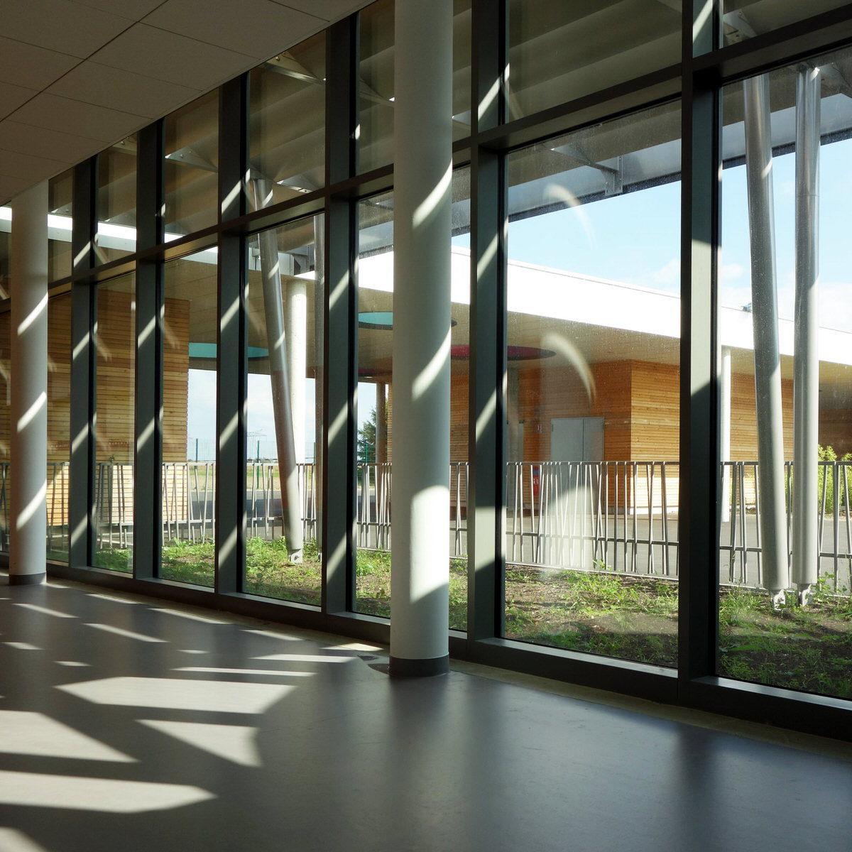 Créature Architectes - Construction du Groupe scolaire d'Avaray-Lestiou - Avaray - 41