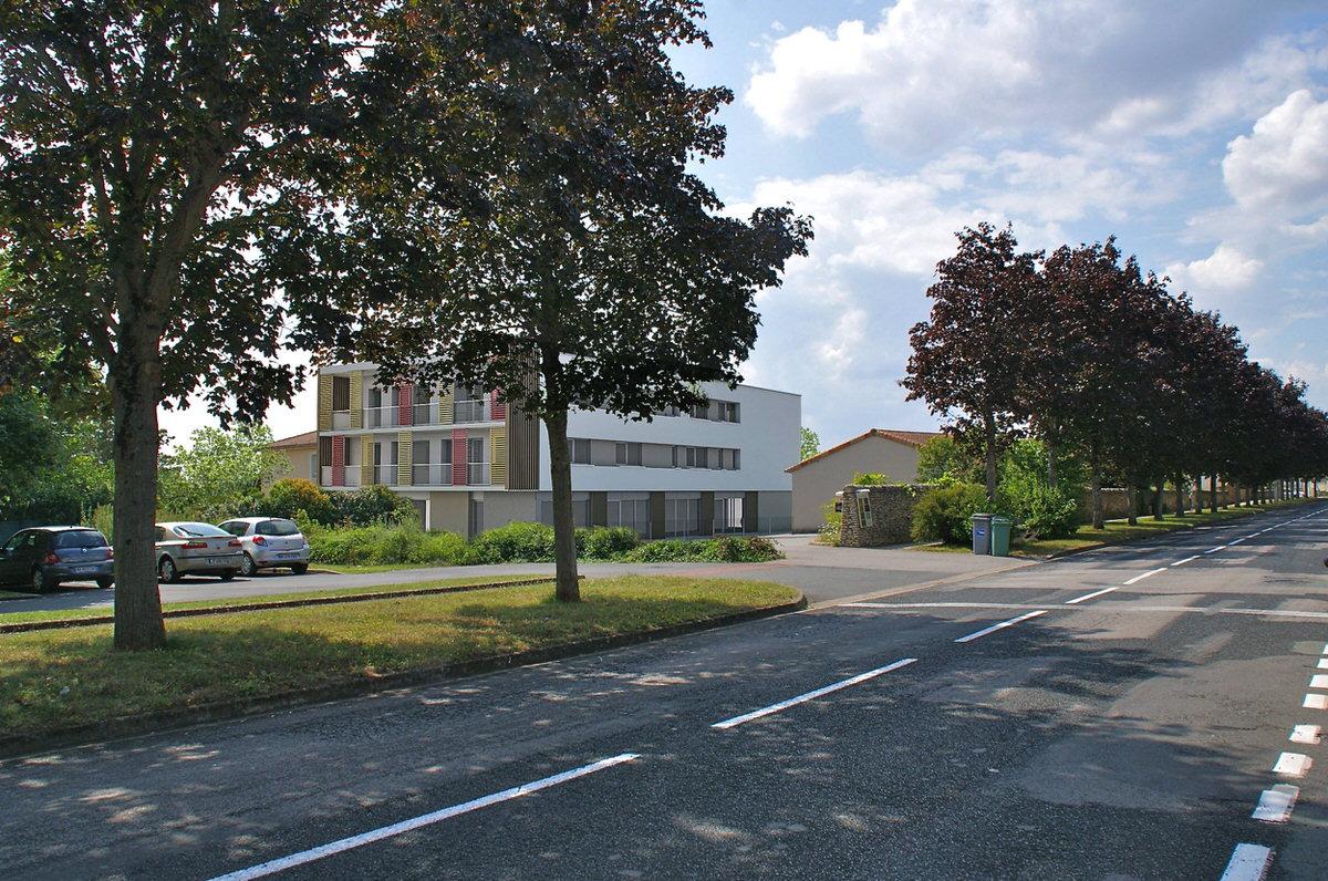 Créature Architectes - Construction De 24 logements collectifs et de 2 locaux à usage médical - Buxerolles - 86