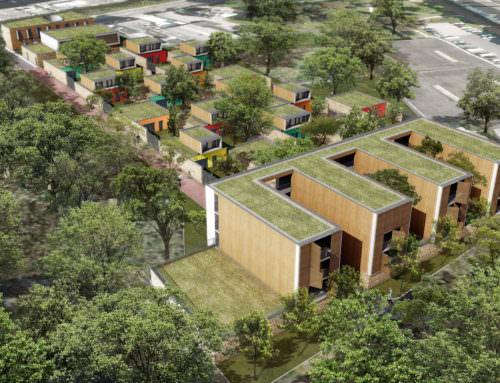 Etude d'aménagement urbain et architectural du site SanitasOrléans (45)
