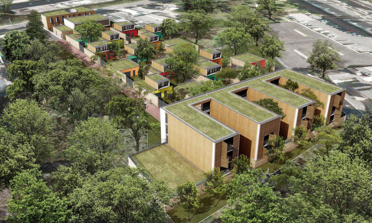 Créature Architectes - Etude d'aménagement urbain et architectural du site Sanitas - Orléans - 45
