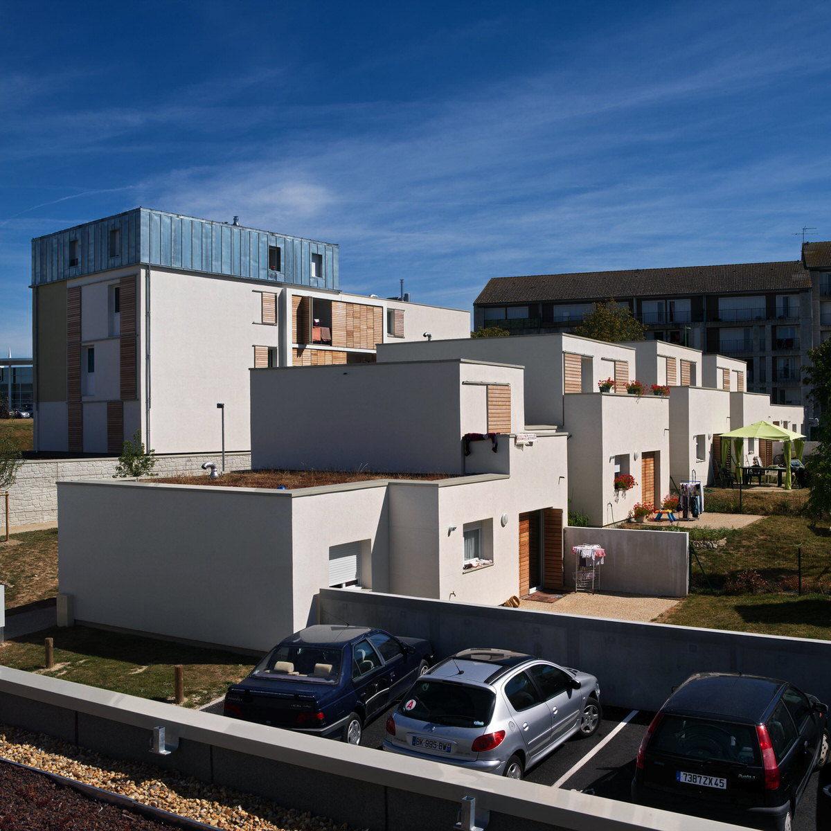 Créature Architectes - Construction de 20 logements collectifs et de 20 logements individuels - Châlette sur Loing - 45