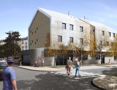 Construction de 3 logements collectifs et de locaux commerciauxFleury-les-Aubrais (45)