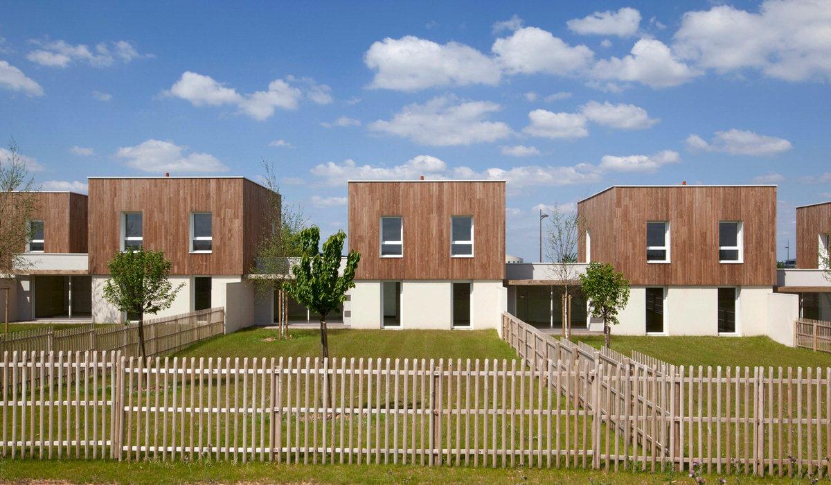 Créature Architectes - Construction de 54 logements collectifs et de 7 logements individuels - Chasseneuil-du-Poitou - 86