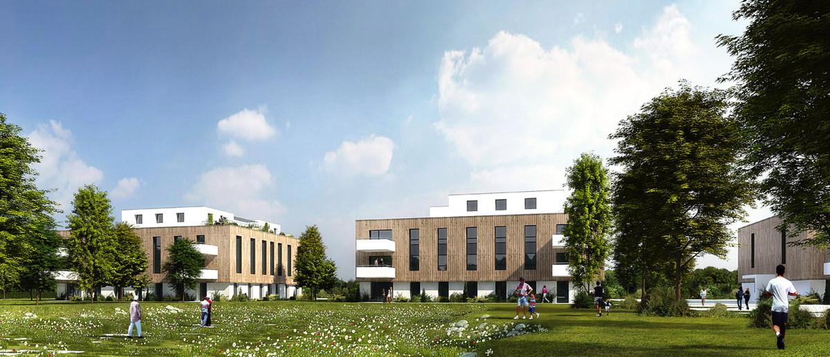 Créature Architectes - Construction de 70 logements quartier Pierre Loti - Poitiers - 86