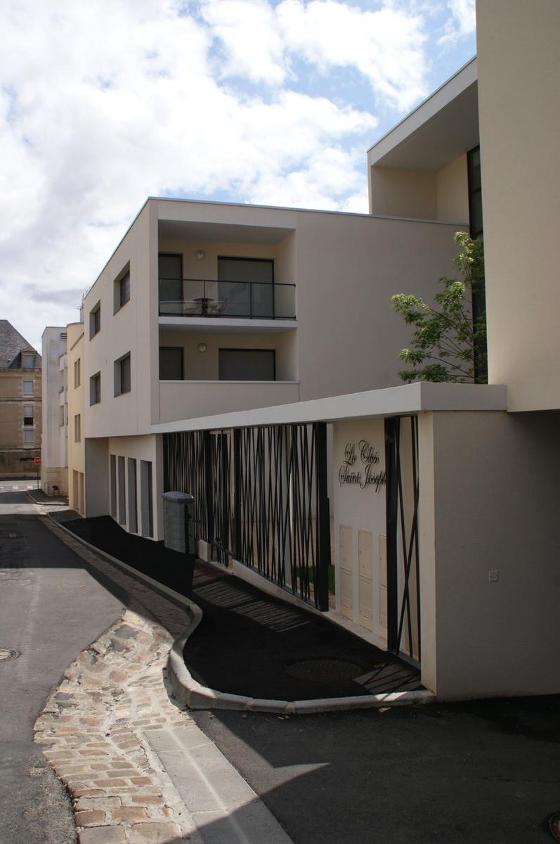 Créature Architectes - Construction de 45 logements collectifs «Clos Saint Joseph» - Poitiers - 86