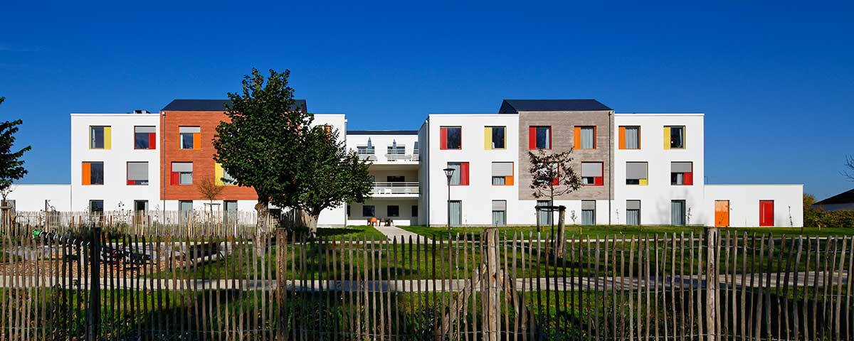 Créature Architectes - Reconstruction - de l'EHPAD «la bonne Eure» - Bracieux - 41