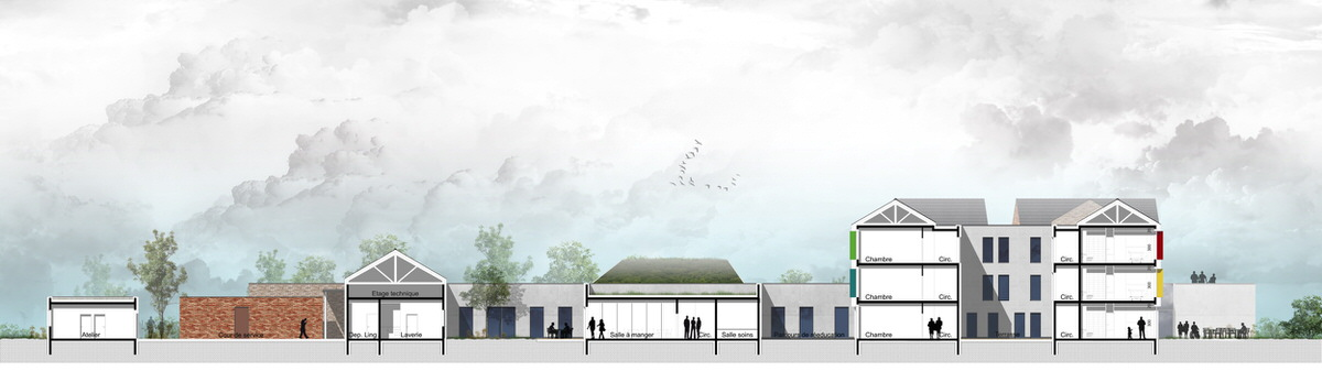 Créature Architectes - Reconstruction de l'EHPAD «la bonne Eure» - Bracieux - 41