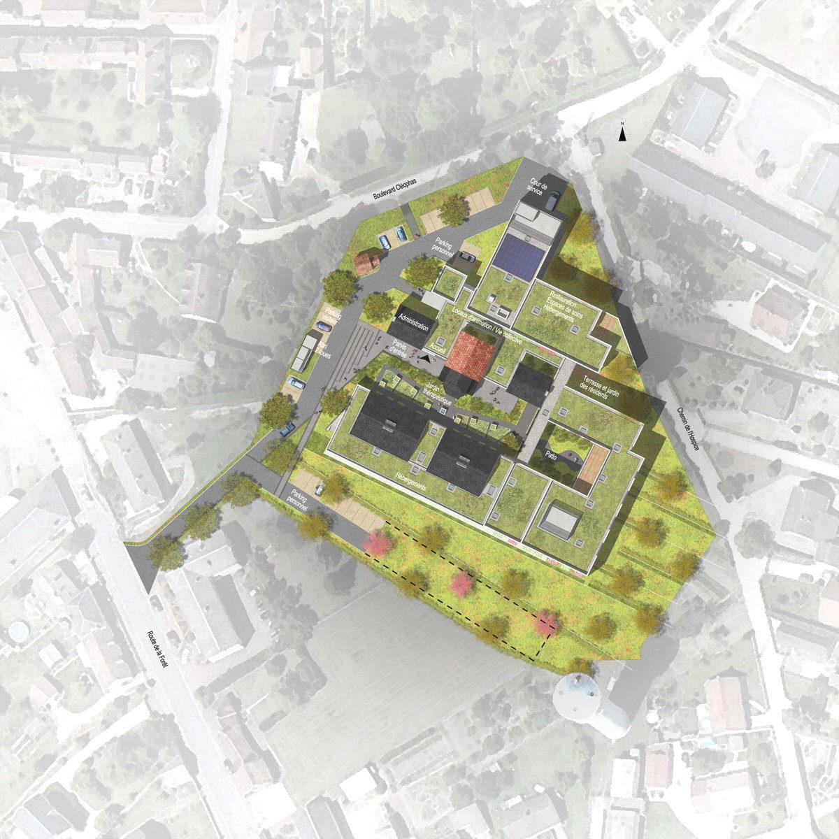 Créature Architectes - Extension et restructuration de l'EHPAD «la résidence d'Emilie» - Lorris - 45