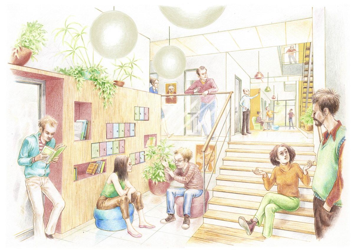 Créature Architectes - Construction d'une maison de réhabilitation psycho-sociale - CH Laborit - Poitiers - 86