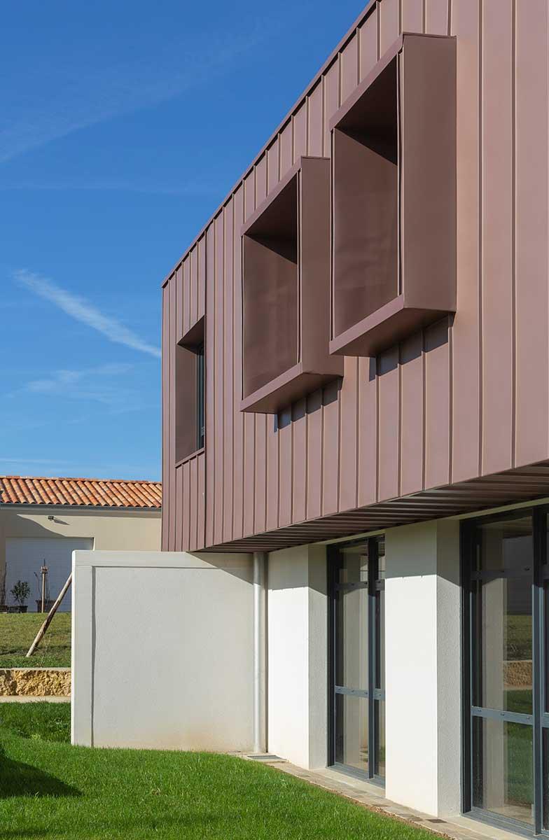 Créature Architectes - Construction - d'une maison de réhabilitation psycho-sociale - CH Laborit - Poitiers - 86