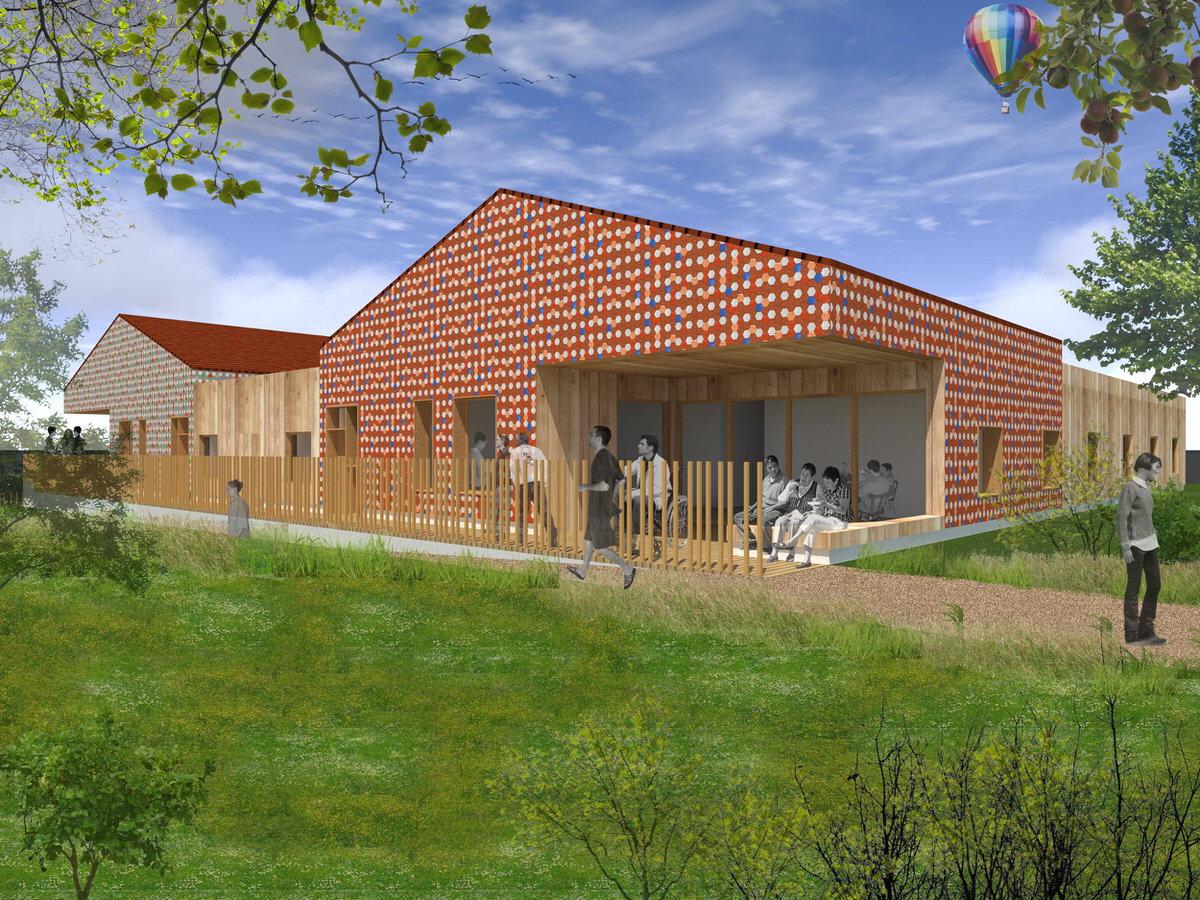 Créature Architectes - Extension et réaménagement des bâtiments des «Amis de Pierre» - Orléans - 45