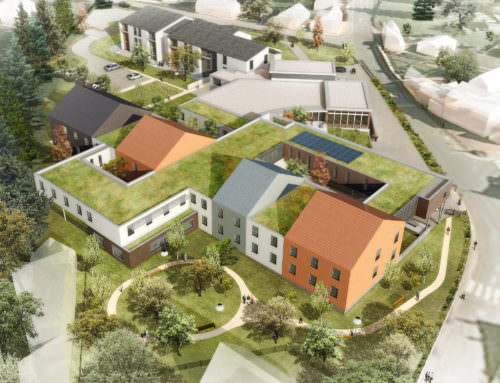 Reconstruction et extension de la résidence Perier Senonches (28)