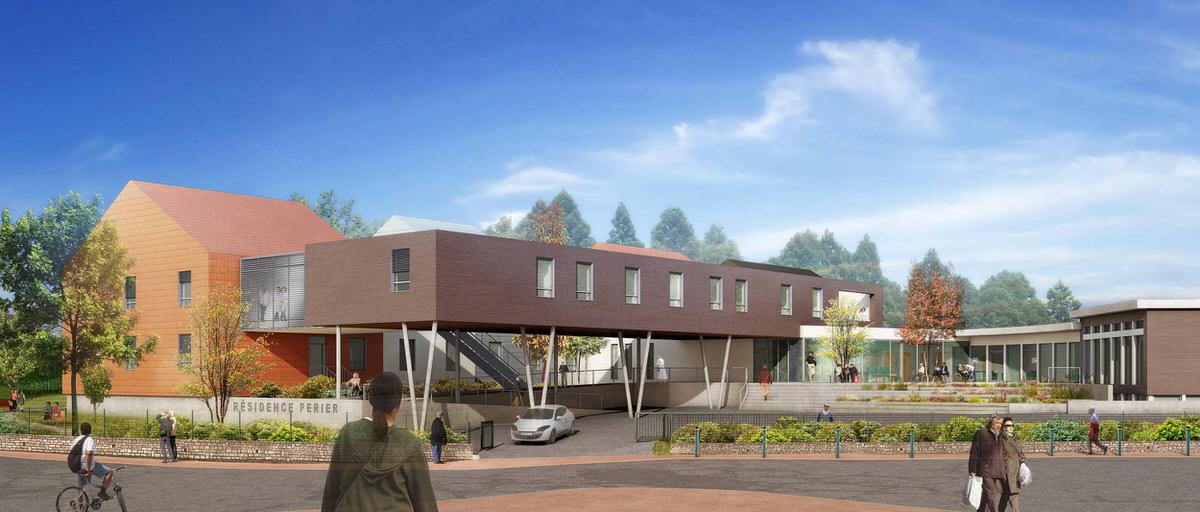 Créature Architectes - Reconstruction et extension de la résidence Perrier - Senonches - 28