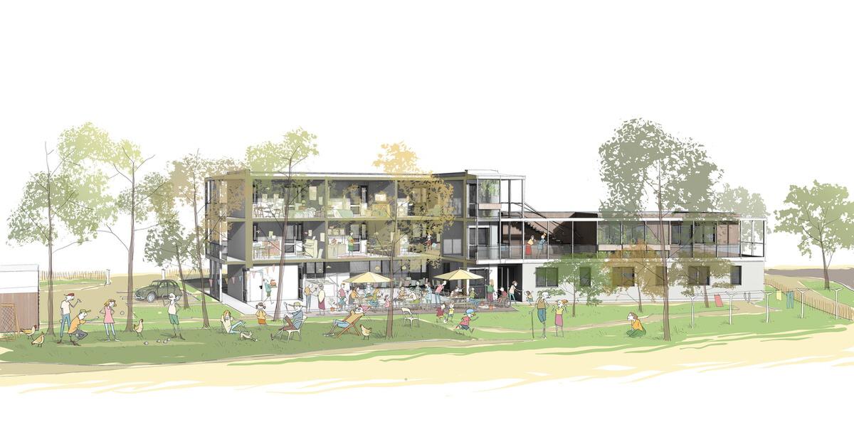 Créature Architectes - Création d'une pension de famille - Châteauroux - 36