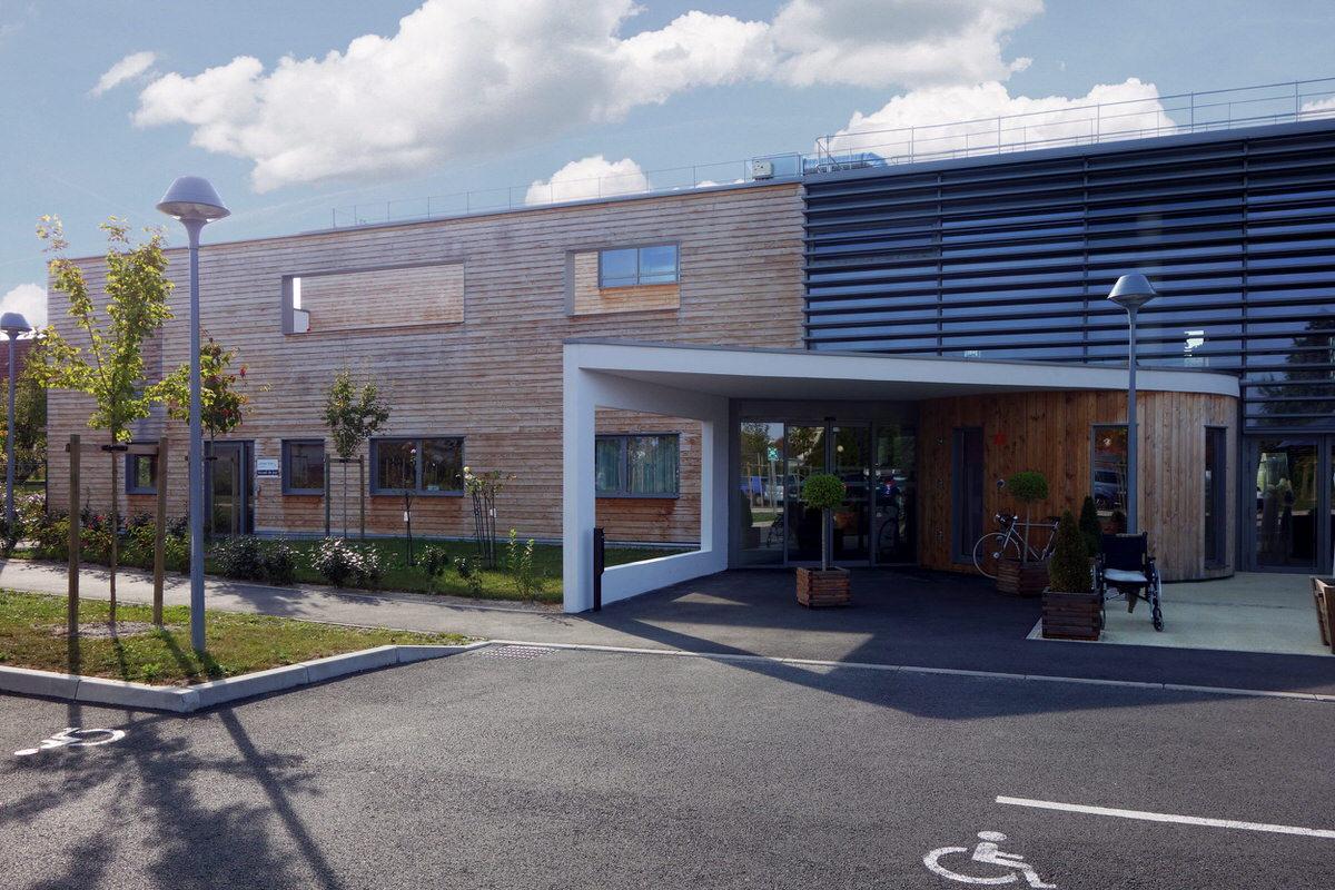 Créature Architectes - Construction d'un EHPAD - ZAC du «Champ Chardon» - Orléans - 45