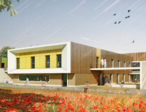 Construction de l'EHPAD «les Marronniers» Chauvigny (86)