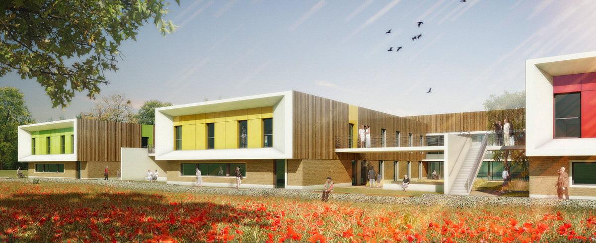Créature Architectes - Construction de l'EHPAD «les Marronniers» - Chauvigny - 86