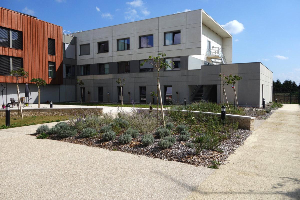 Créature Architectes - Construction de l'EHPAD «le Champgarnier» - Meung-Sur-Loire - 45