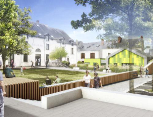 Extension et restructuration de la Halte Garderie du «Moulin de la vapeur» Olivet (45)