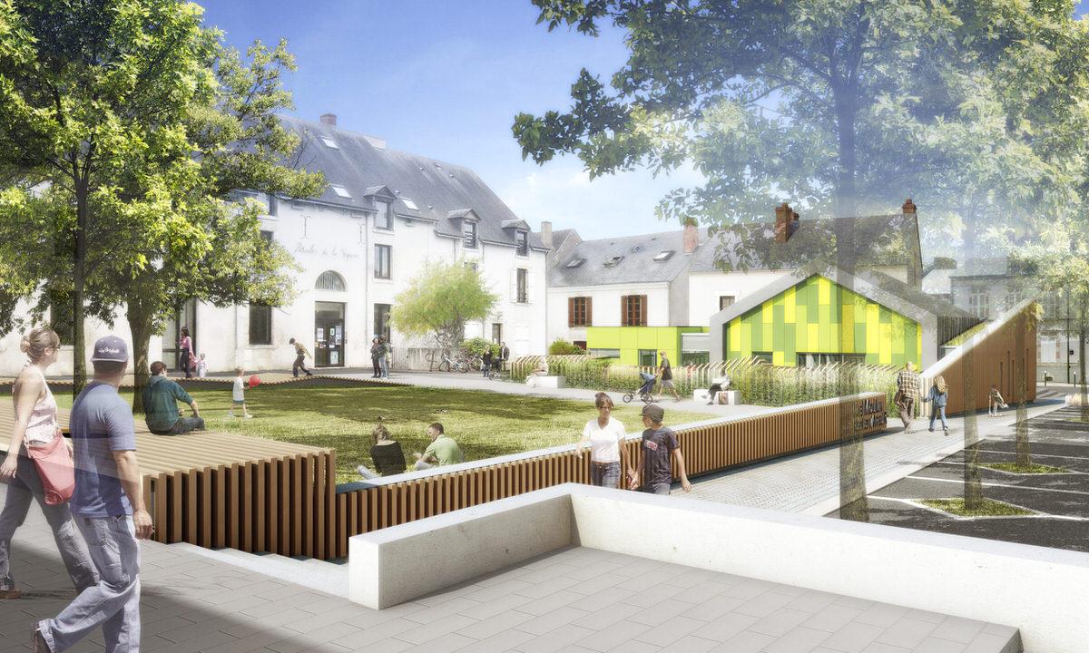 Créature Architectes - Extension et restructuration de la Halte Garderie du «Moulin de la vapeur» - Olivet - 45