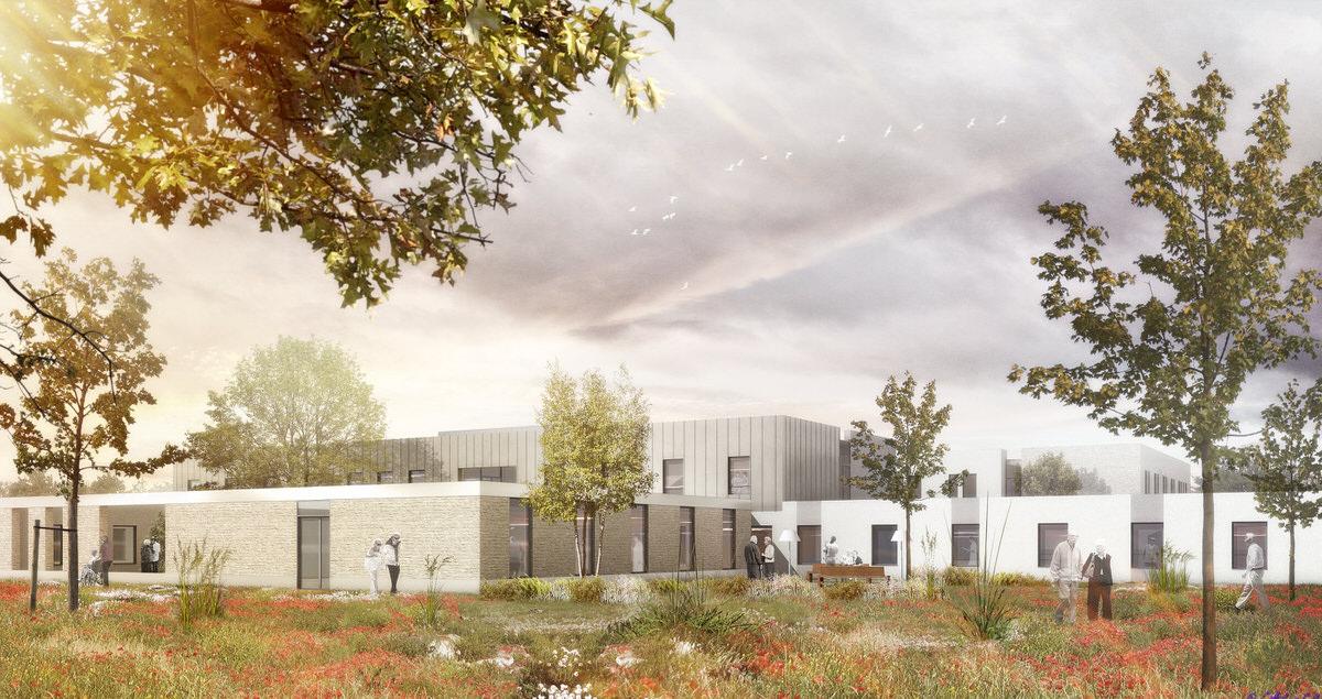 Créature Architectes - Restructuration de l'EHPAD Marcel Fortier - Richelieu - 37