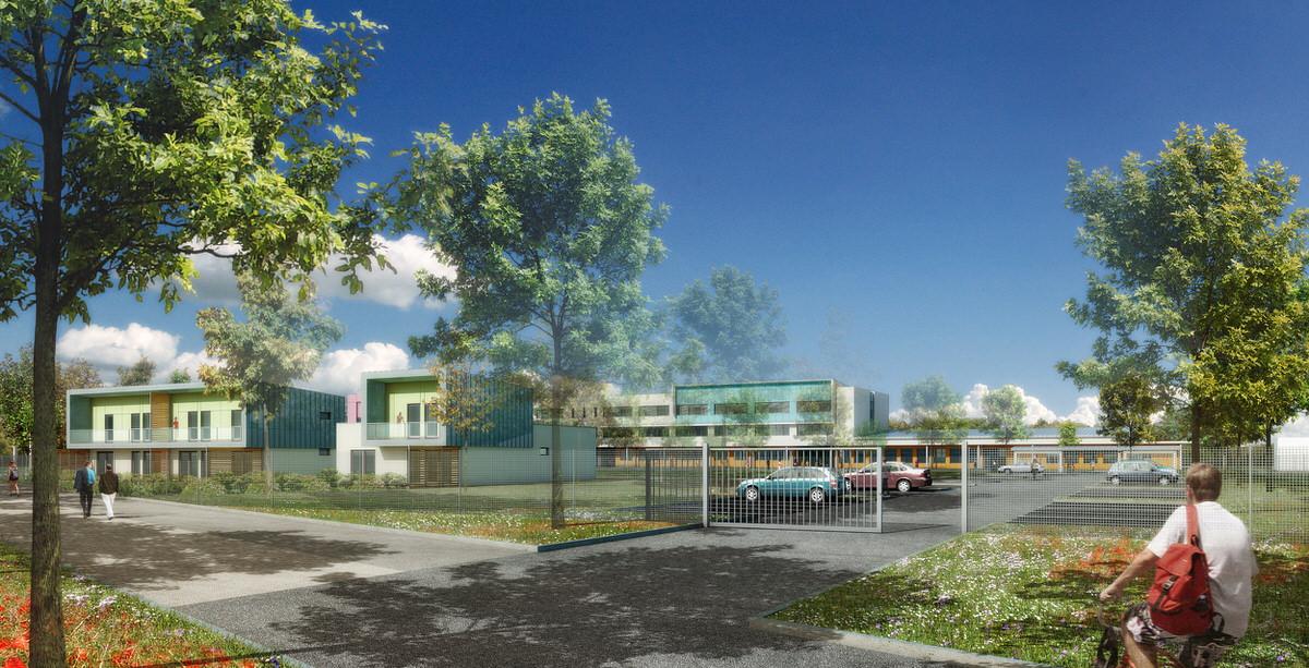 Créature Architectes - Reconstruction du collège Pierre Mendès France - Chécy - 45