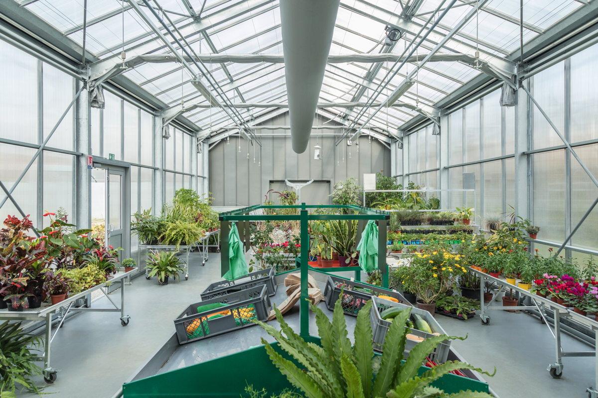Créature Architectes - Reconstruction du bâtiment d'enseignement de l'école d'horticulture «La Mouillère» - Orléans - 45