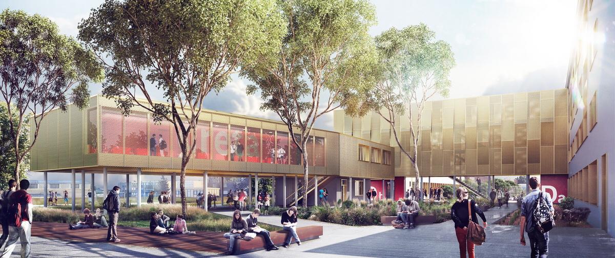 Créature Architectes - Restructuration de l'externat du lycée Paul Guérin - Niort - 79