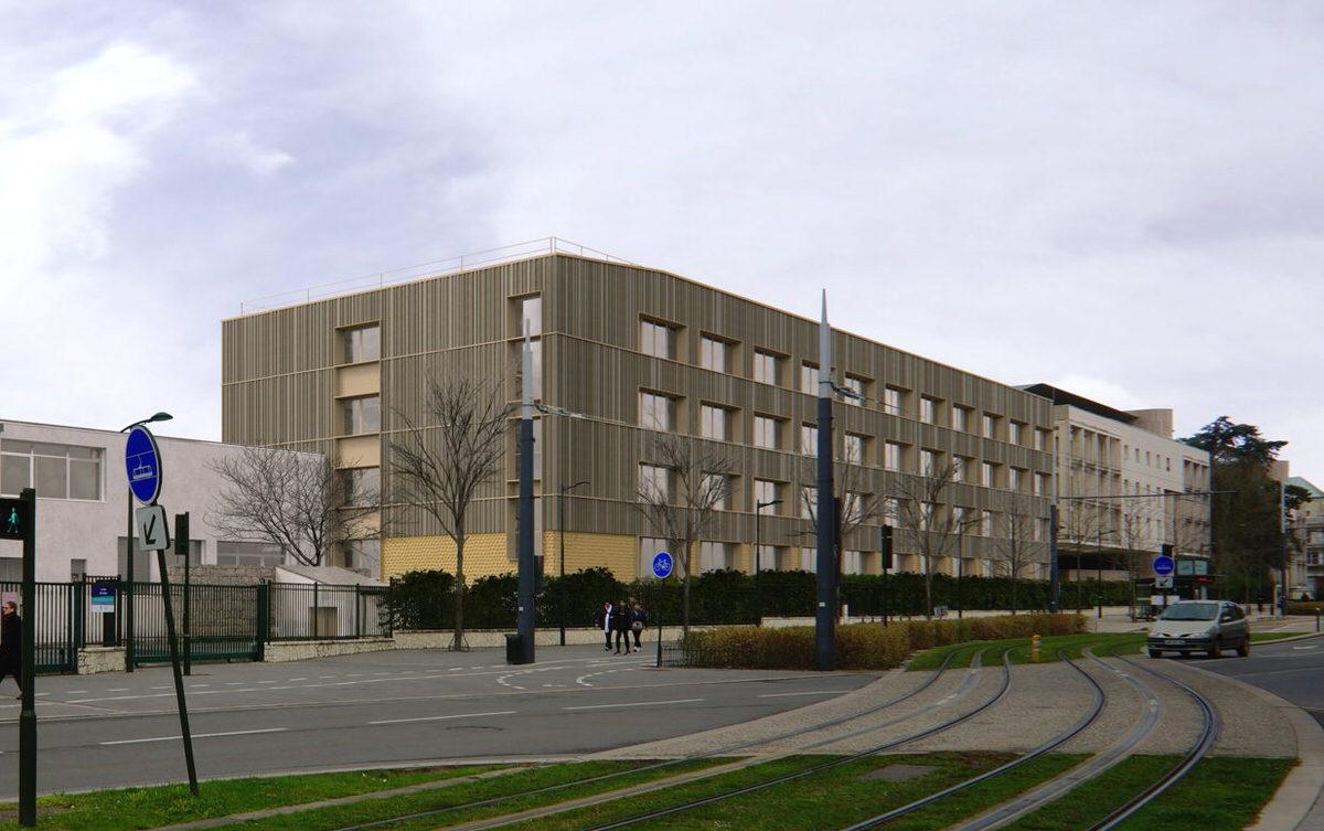Créature Architectes - Restructuration du bâtiment C du lycée Pothier - Orléans - 45