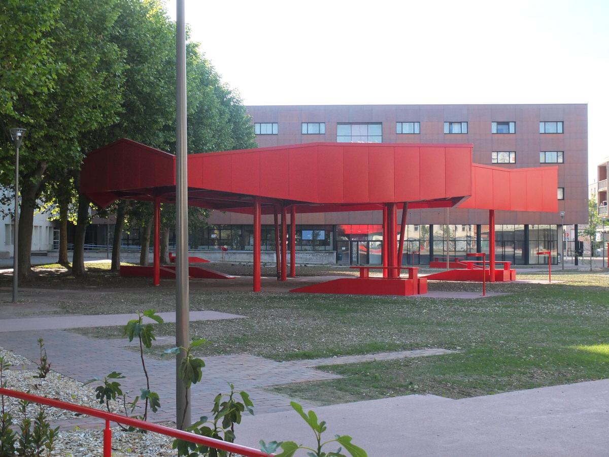 Créature Architectes - Extension et restructuration du lycée Benjamin Franklin - 2ème tranche - Orléans - 45