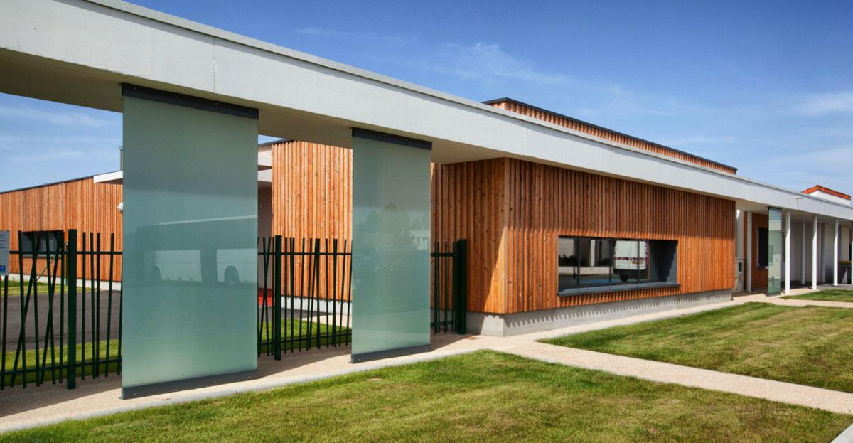 Créature Architectes - Construction d'un pôle petite enfance et d'une bibliothèque - Beaumont - 86