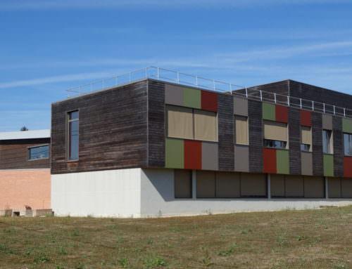 Extension et construction de l'externat et du pôle serres du lycée agricole  Bellegarde (45)