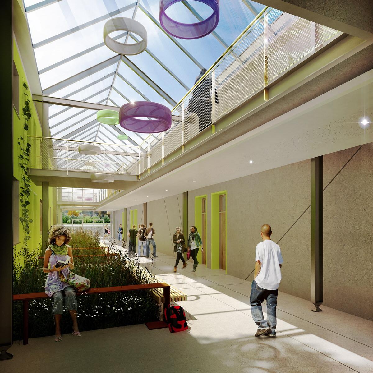 Créature Architectes - Extension et construction du pôle serres du lycée Agricole (EPLEFPA) - Bellegarde - 45