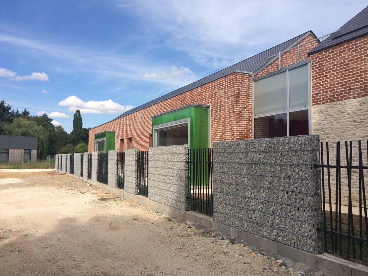 Créature Architectes - Reconstruction d'une école maternelle et définition du projet urbain - Châtillon Coligny - 45