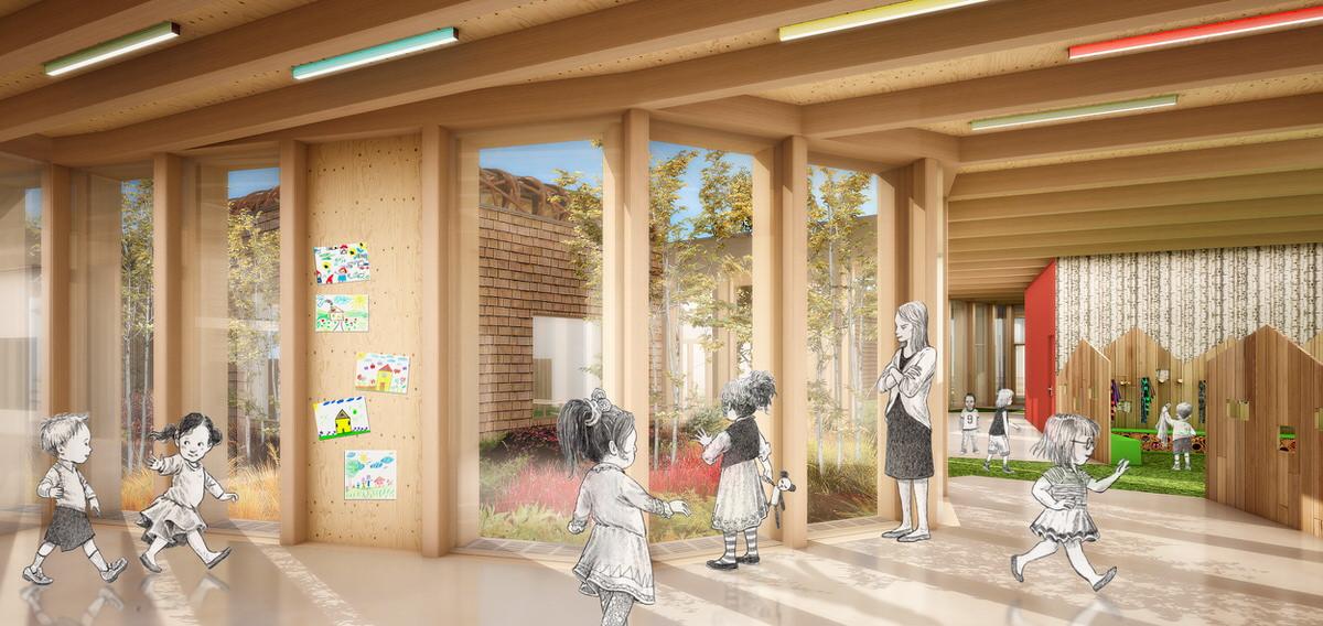Créature Architectes - Construction d'un groupe scolaire et d'équipements périscolaires - Josnes - 41