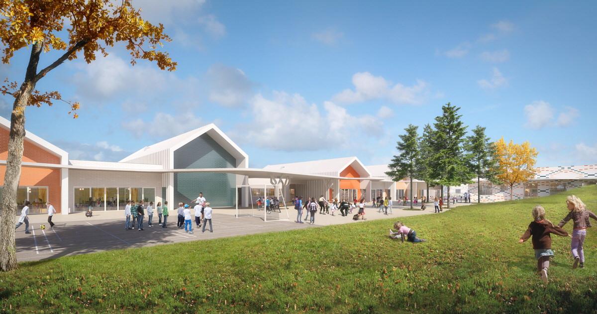 Créature Architectes - Restructuration et extension De l'école Jean Macé et de l'école Jean de la Fontaine - Châteaudun - 28