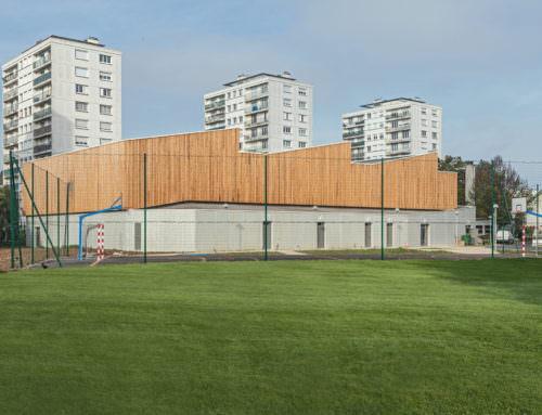 Construction du Gymnase du lycée horticole de La Mouillère  Orléans (45)
