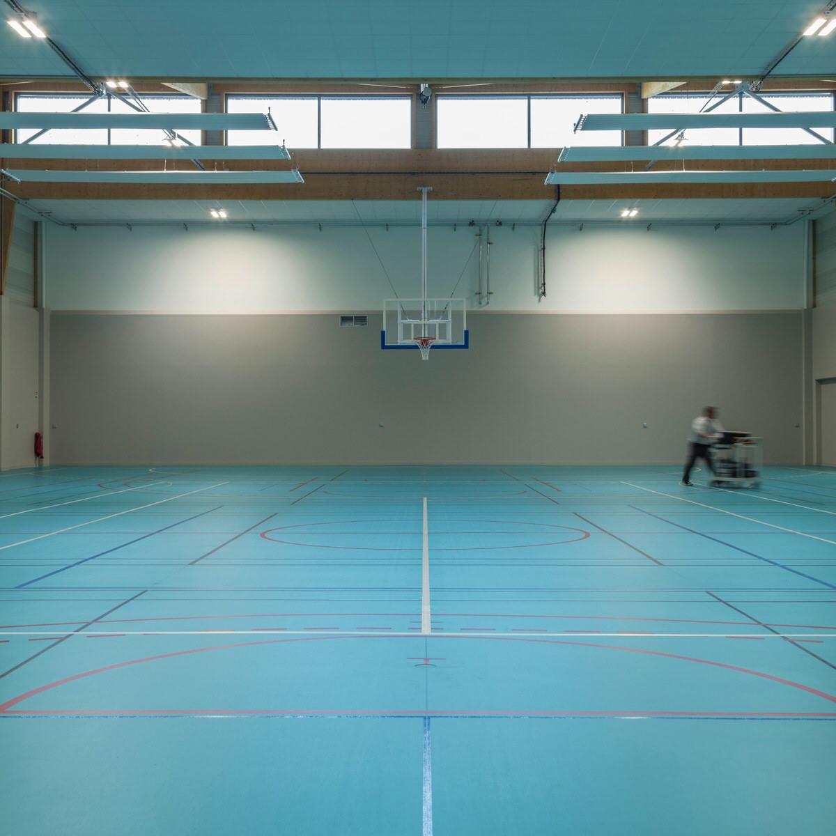 Créature Architectes - Construction du Gymnase du lycée horticole de La Mouillère - Orléans - 45