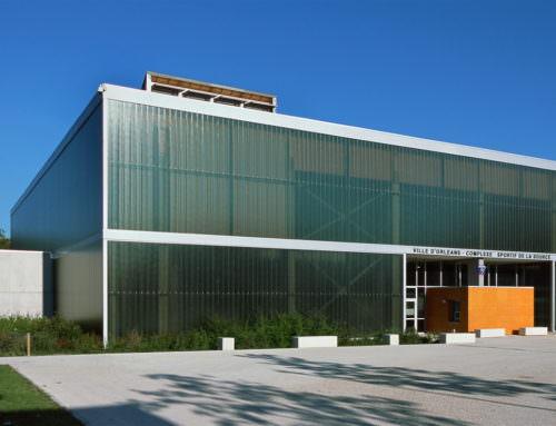 Construction du complexe sportif de la Source «Minouflet»  Orléans-la-Source (45)