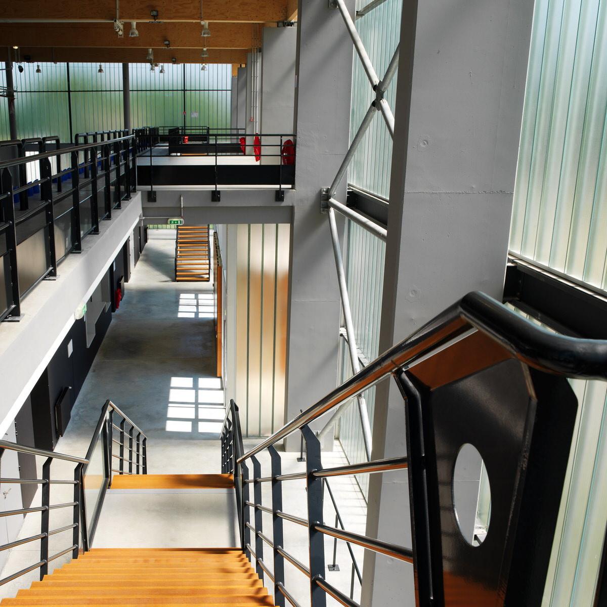Créature Architectes - Construction du Complexe sportif de la Source «Minouflet» - Orléans-la-Source - 45