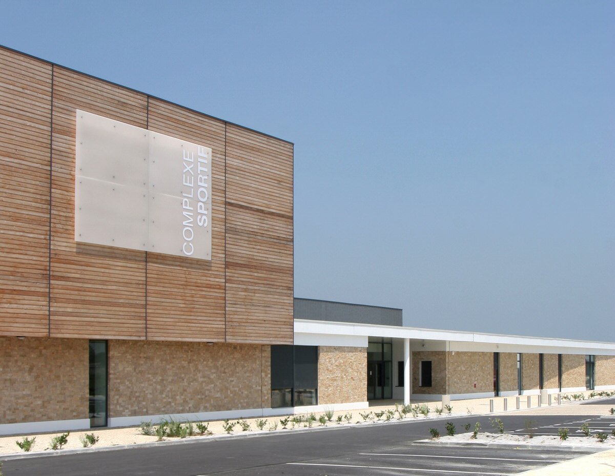 Créature Architectes - Construction du Complexe sportif d'Oléron - Oléron - 17