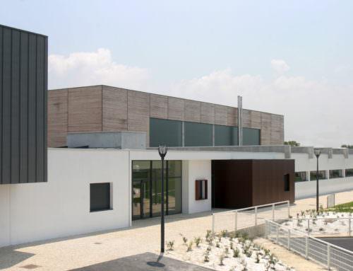 Construction du Complexe sportif  Oléron (17)
