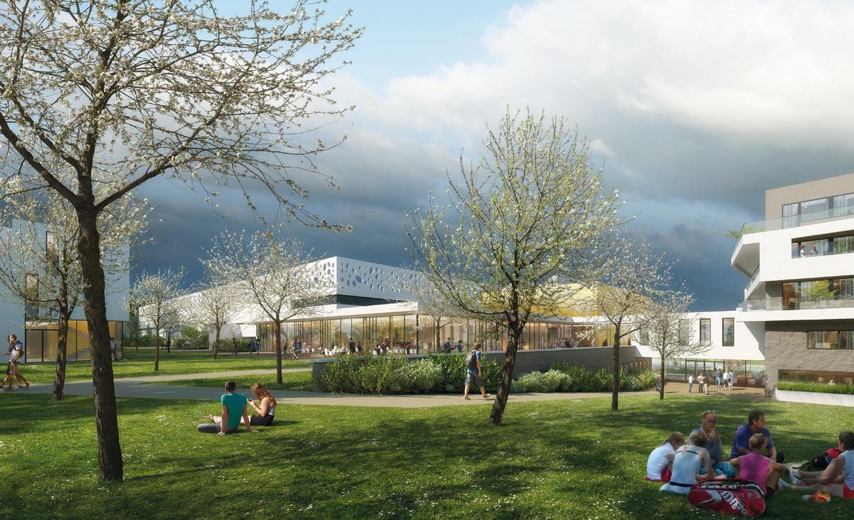Créature Architectes - Construction du CREPS des Pays de la Loire - La Chapelle sur Erdre - 44