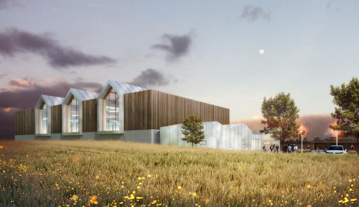 Créature Architectes - Construction d'un Gymnase - Saint-Ay - 45