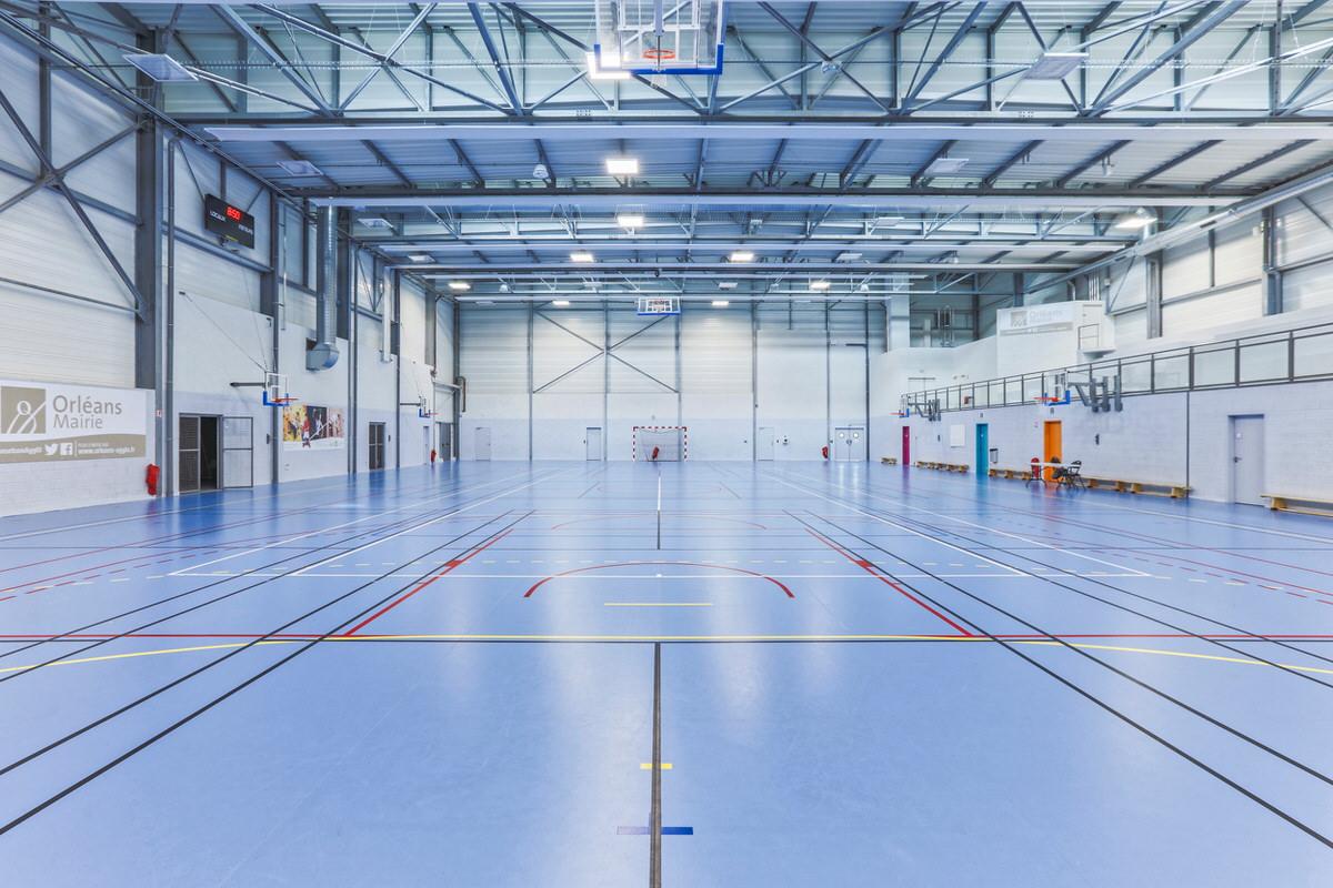 Créature Architectes - Construction du Gymnase «Dauphine - Georges Chardon» - Orléans - 45