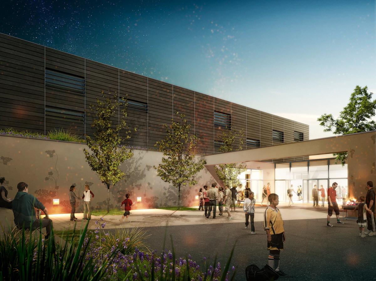 Créature Architectes - Extension du Gymnase des plantes - Chécy - 45