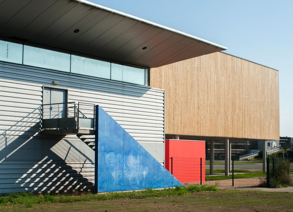 Créature Architectes - Construction du Gymnase du lycée Charles Péguy - Orléans - 45