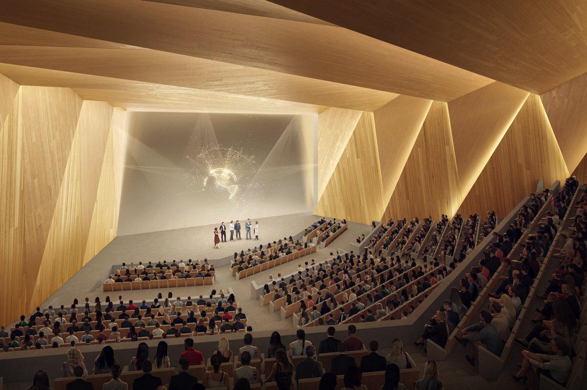 Créature Architectes - Construction du «Co'met» - Salle sportive, Palais des congrès et Parc des expositions - Orléans - 45