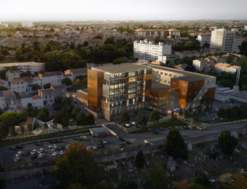 Extension, restructuration et rénovation thermique des bureaux et espaces extérieurs d'IMA   Niort (79)