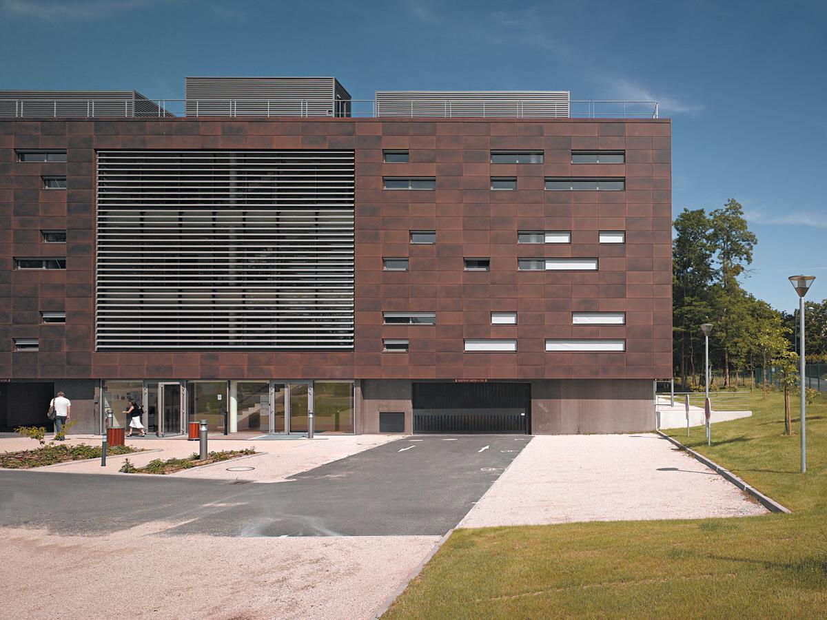 Créature Architectes - Construction d'un immeuble de Bureaux - ZAC du parc du Moulin (Sofilo) - Olivet - 45